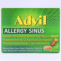 ADVIL ALLERGY SINUS