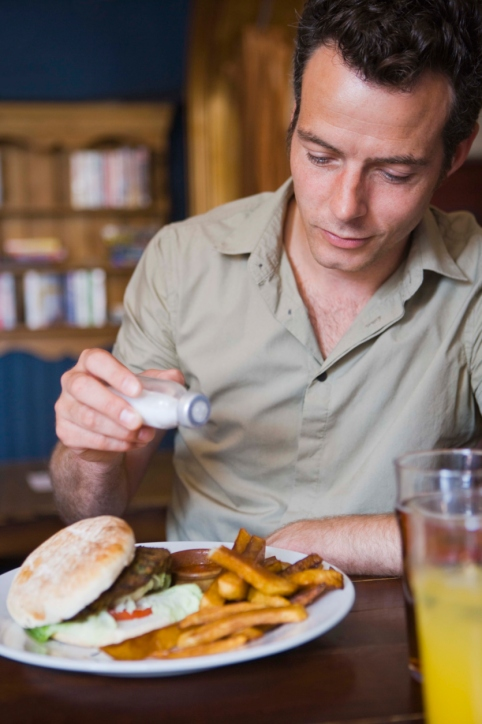 Blood Pressure Increases Along with Sodium Intake
