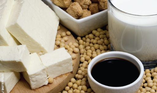 Consuming soy may improve cardiovascular risk factors.
