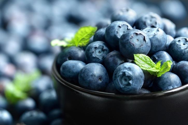 25+ Low-Potassium Plant Foods Blueberries