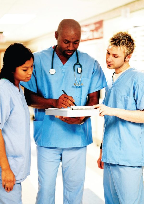 A hospital reveals medical mistakes to staff via electronic newsletter.