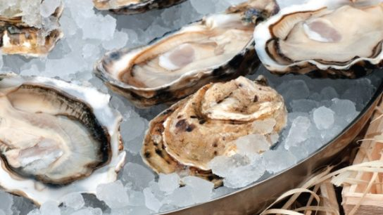 Oysters are the most concentrated food source of zinc, according to the USDA.
