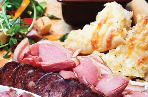 Patients should be cautioned to avoid smoked and cured meats with high sodium content.