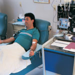 Low BMI and large waist circumference are mortality risk factors in dialysis patients.