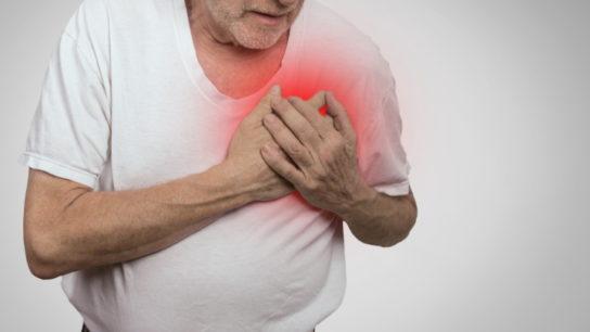 heart problem in elderly man