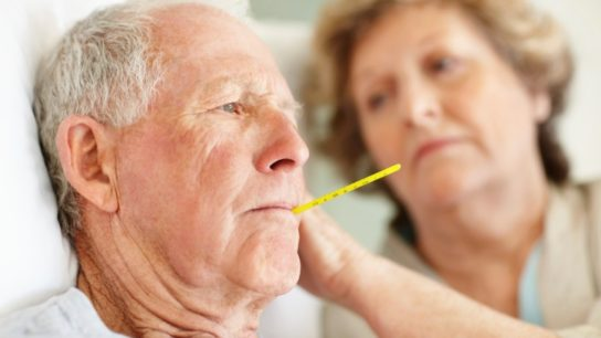 Infection Among Diabetics with CKD