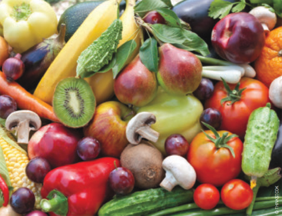 Higher intake of fruits and vegetables may help reduce metabolic acidosis risk.