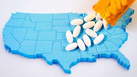opioids on a map