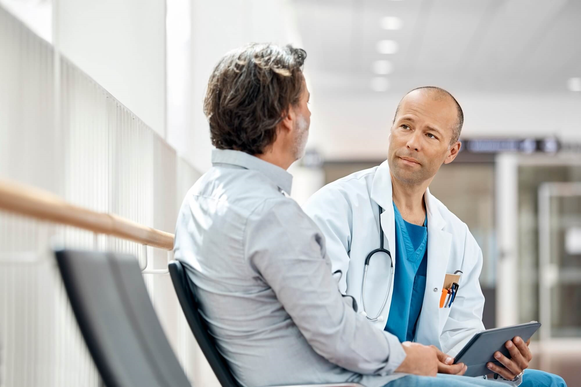 Image result for patient setting with doctor