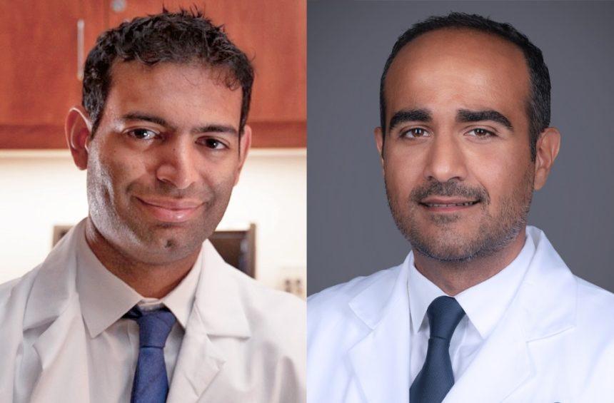 Dr Kishan and Dr Chahoud headshots