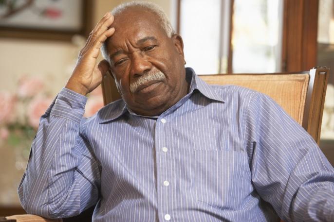 black man depression