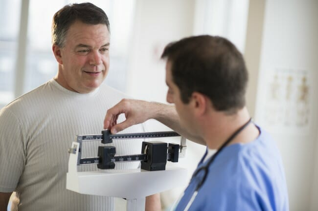 Some observational studies suggest that overweight BMI may have a protective effect during cancer tr